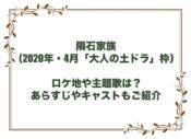 隕石家族 ドラマ ロケ地 主題歌 あらすじ キャスト