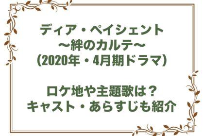 ディア・ペイシェント~絆のカルテ~ ドラマ ロケ地 主題歌 キャスト あらすじ